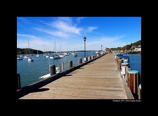 Northport Boardwalk  by © Sophie W. Smith