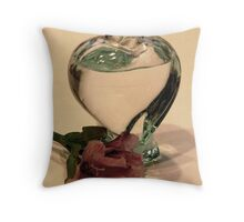 I'm A Flower Out Of Water Without You Throw Pillow
