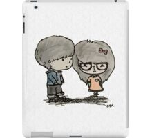Cute Boy and Girl - LQ iPad Case/Skin