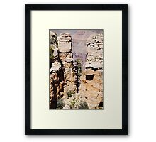 I will be strong Framed Print