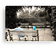 Big brother little brother Canvas Print