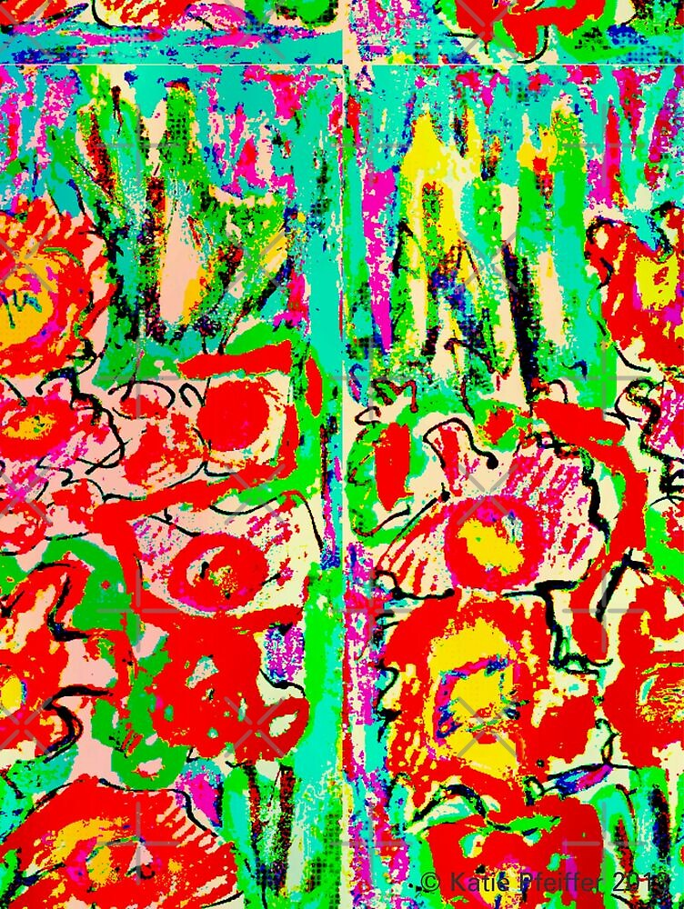 Another Abstract Flower Digital Design by Kater