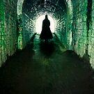Spooky man by Sharonroseart