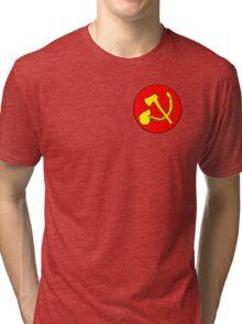 Zommunist - The Dead Terror Tri-blend T-Shirt
