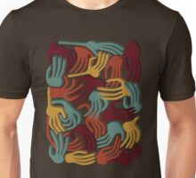 Hands Superposition WLJ71 Unisex T-Shirt