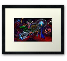 Oregon Zoo Lights Galaxy 2013 Framed Print