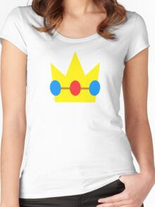 Super Mario Peach Icon Women's Fitted Scoop T-Shirt