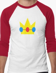 Super Mario Peach Icon Men's Baseball ¾ T-Shirt