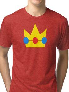 Super Mario Peach Icon Tri-blend T-Shirt
