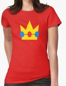 Super Mario Peach Icon Womens Fitted T-Shirt
