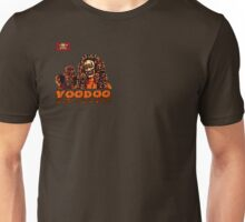 Voodoo Makes a Man Nasty! (Small Image/Rt Shoulder) Unisex T-Shirt