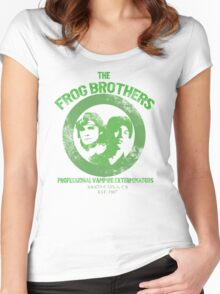 Frog Brothers-Vampire Extermination Women's Fitted Scoop T-Shirt