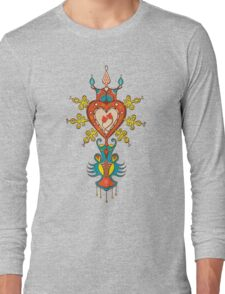 Heart Rules Long Sleeve T-Shirt