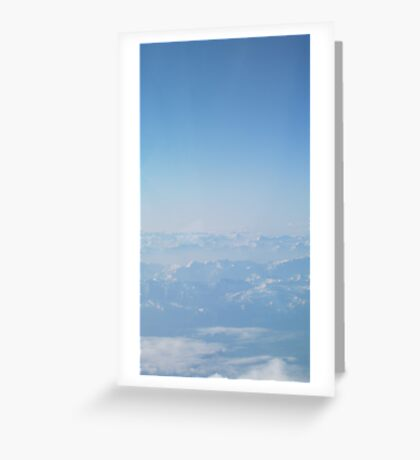 Summer in the Alps VRS2 Greeting Card