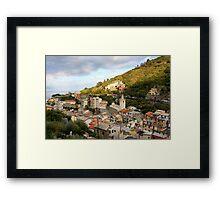 Riomaggiore di Cinque Terre Framed Print