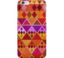Fire diamond Pattern iPhone Case/Skin