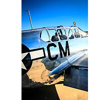 P51C Mustang WWII Fighter Plane Photographic Print