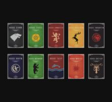 Game of Thrones Houses Tee by liquidsouldes