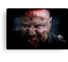 Zombie General II Canvas Print