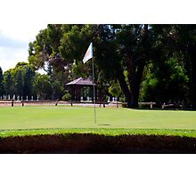 Where do golfers go when they die? Photographic Print