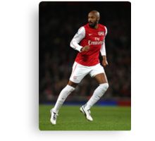 Thierry Henry Arsenal 2012 Poster Canvas Print