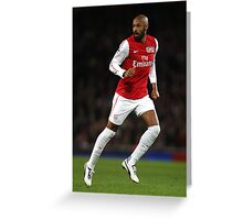 Thierry Henry Arsenal 2012 Poster Greeting Card