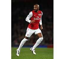 Thierry Henry Arsenal 2012 Poster Photographic Print