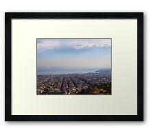 View to Athens Harbor (Greece) VRS2 Framed Print