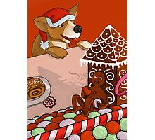 Gingerbread Christmas Photographic Print