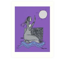 yoga 3 Art Print