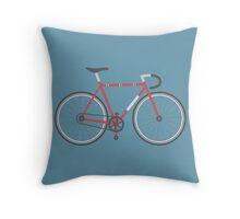 Street Bike Throw Pillow
