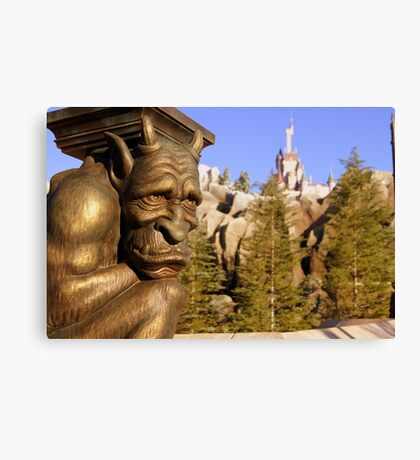 Pathway to the Castle Canvas Print