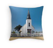 raukokore historic church Throw Pillow