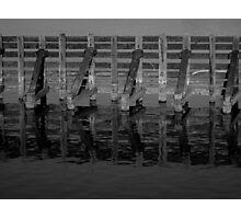 Near Turntable Bridge Savana IL Photographic Print