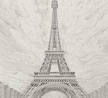 The Eiffel Tower by Matan Chaffee