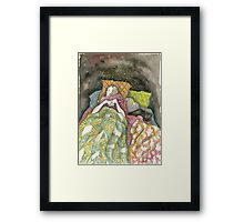 Sleepy Babies Framed Print