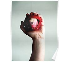 Pierced Apple Poster