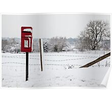 The postbox Poster