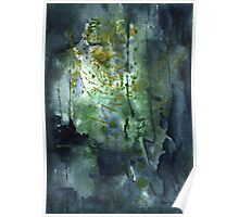 Untitled Abstract 128-13 Poster