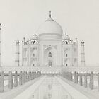 The Taj Mahal by Matan Chaffee
