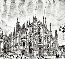 The Milan Cathedral by Matan Chaffee