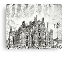 The Milan Cathedral Metal Print