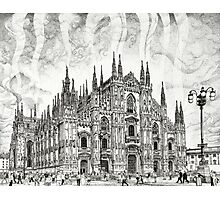 The Milan Cathedral Photographic Print
