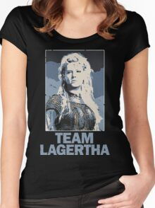 Team Lagertha - Vikings, History Channel Women's Fitted Scoop T-Shirt