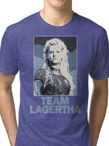 Team Lagertha - Vikings, History Channel Tri-blend T-Shirt
