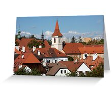 City Rooftops Greeting Card