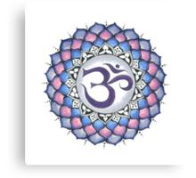 The Crown Chakra Canvas Print