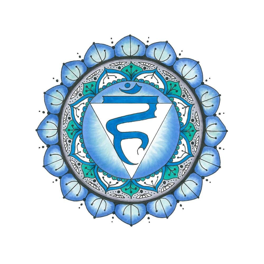 The Throat Chakra by heavenlyhenna
