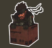 Metal Gear Solid in Amazon Box by Sandy W