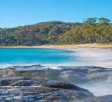 Solitary Beach Walk  by RayPegram